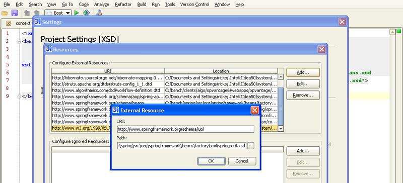 Appendix A  XML Schema-based configuration