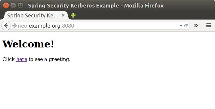 Spring Security Kerberos - Reference Documentation