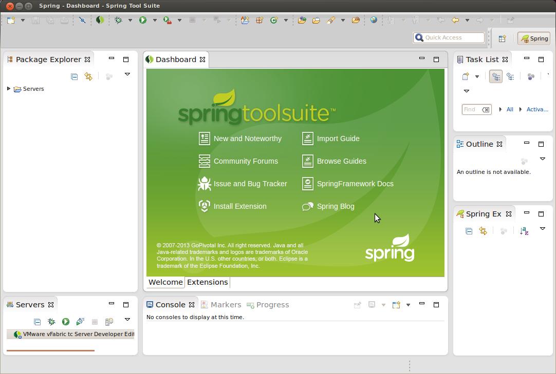Installing Spring Tool Suite