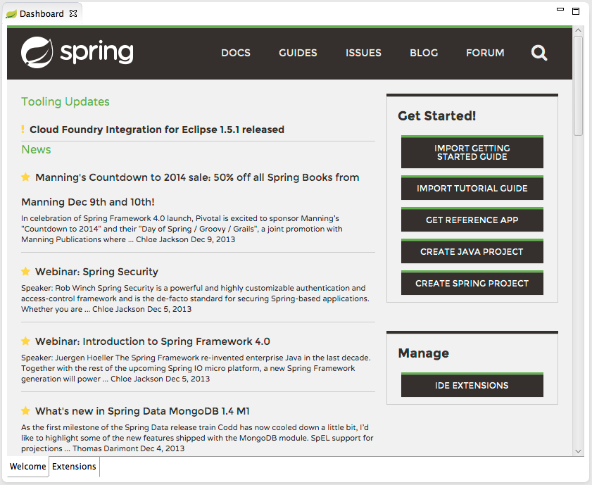 spring sts 3.4.0