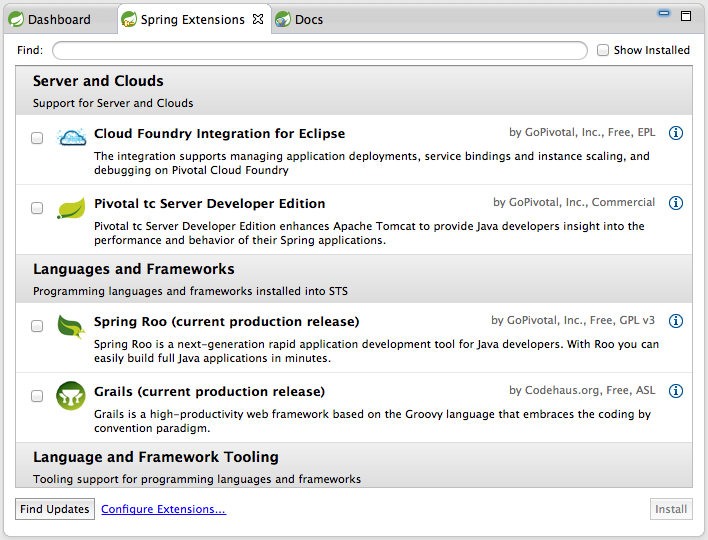 sts spring tool suite download