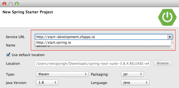 Spring Tool Suite 3 8 4 - New and Noteworthy